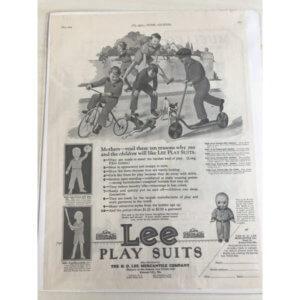 ヴィンテージ広告 ADピクチャー Lee リー