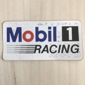 Mobil 1 レーシングステッカー ヴィンテージステッカー