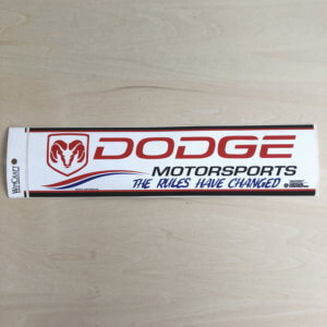DODGE レーシングステッカー ヴィンテージステッカー