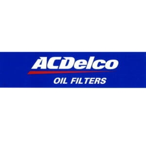 AC Delco OIL FILTER ステッカー
