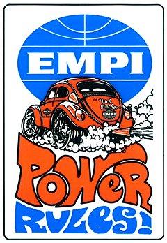 EMPI Power Rules! ステッカー
